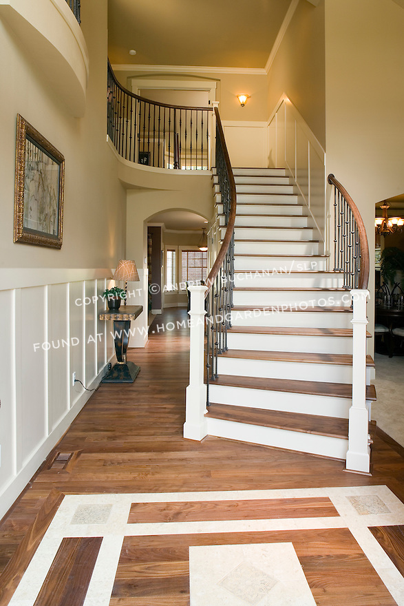 Front Foyer Staircase : Df interior stair photo g homeandgardenphotos