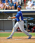 15 March 2008: Los Angeles Dodgers' outfielder Andre Ethier at bat during a Spring Training game against the Washington Nationals at Space Coast Stadium, in Viera, Florida...Mandatory Photo Credit: Ed Wolfstein Photo