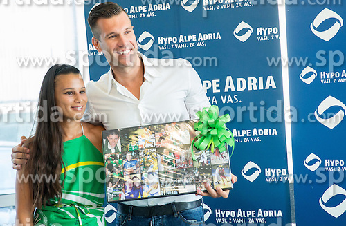 Sani Becirovic during press conference after Sani Becirovic, Slovenian Basketball player ended his a long and successful career and started as Coach Assistant in Panathinaikos, on July 22, 2015 in Ljubljana, Slovenia. Photo by Vid Ponikvar / Sportida