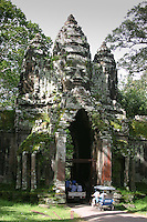 Angkor gates