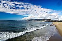 Santa Monica bay. (December 13, 2012)