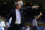 01 March 2015: UNC assistant coach Andrew Calder. The Duke University Blue Devils hosted the University of North Carolina Tar Heels at Cameron Indoor Stadium in Durham, North Carolina in a 2014-15 NCAA Division I Women's Basketball game. Duke won the game 81-80.