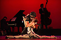 London, UK. 30.01.2013. Tango Fire Company presents FLAMES OF DESIRE at the Peacock Theatre. Picture shows: Sebastian Alvarez and Victoria Saudelli. Photo credit: Jane Hobson.