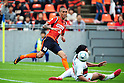 Rafael (Ardija), Takahiro Masukawa (Grampus),.OCTOBER 22, 2011 - Football / Soccer :.2011 J.League Division 1 match between Omiya Ardija 2-3 Nagoya Grampus Eight at NACK5 Stadium Omiya in Saitama, Japan. (Photo by AFLO)