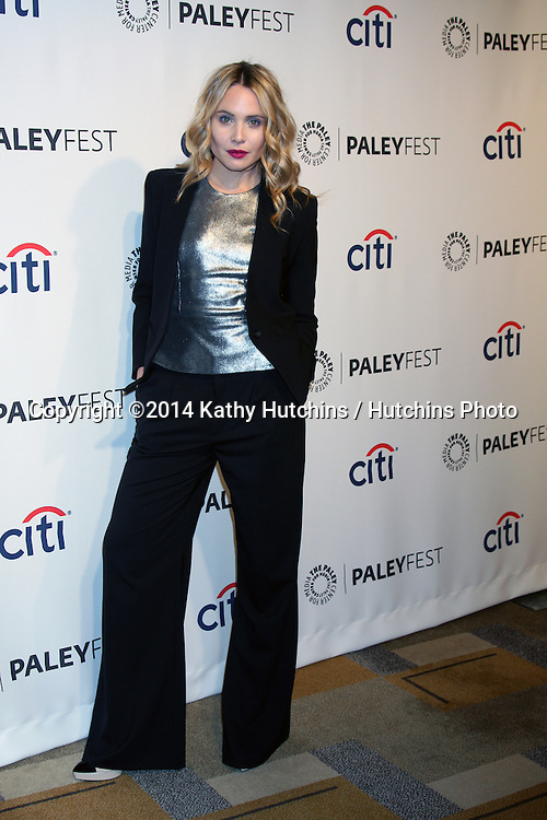 """LOS ANGELES - MAR 22:  Leah Pipes at the PaleyFEST 2014 - """"The Vampire Diaries"""" & """"The Originals"""" at Dolby Theater on March 22, 2014 in Los Angeles, CA"""