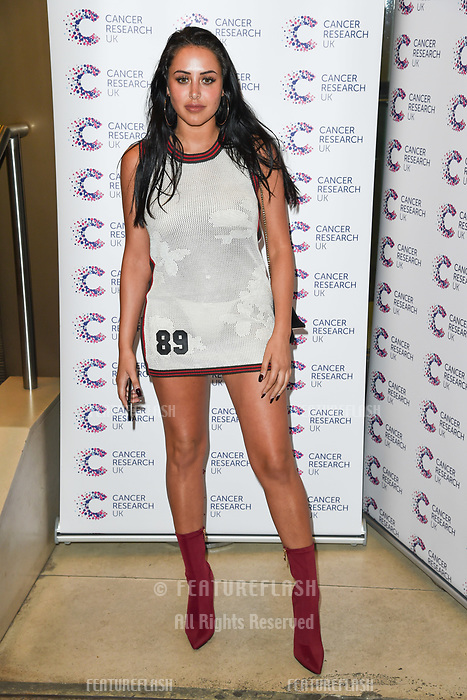 Marnie Simpson arriving at James Ingham&rsquo;s Jog On to Cancer, in aid of Cancer Research UK at The Roof Gardens in Kensington, London.  <br /> 12 April  2017<br /> Picture: Steve Vas/Featureflash/SilverHub 0208 004 5359 sales@silverhubmedia.com