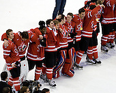 Cody Goloubef (Canada - 17), Chet Pickard (Canada - 31), PK Subban (Canada - 5), John Tavares (Canada - 19), ?, Dustin Tokarski (Canada - 30), Ryan Ellis (Canada - 8), ? - Canada defeated Sweden 5-1 (2 en) in the 2009 World Junior Championship gold medal game on Monday, January 5, 2009, at Scotiabank Place in Kanata (Ottawa), Ontario.  This was the second consecutive year that Canada won gold and Sweden won silver after Canada defeated Sweden in overtime in 2008 and was Canada's fifth consecutive gold.