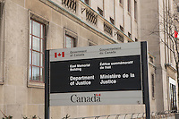 Department of Justice Canada headquarters (Administration centrale du Ministere de la justice Canada) is pictured in Ottawa Tuesday November 18, 2014.