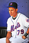 2 March 2010: New York Mets' shortstop Ruben Tejada sits in the dugout prior to a game against the Atlanta Braves during the Opening Day of Grapefruit League play at Tradition Field in Port St. Lucie, Florida. The Mets defeated the Braves 4-2 in Spring Training action. Mandatory Credit: Ed Wolfstein Photo