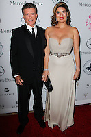 BEVERLY HILLS, CA, USA - OCTOBER 11: Alan Thicke, Tanya Callau arrive at the 2014 Carousel Of Hope Ball held at the Beverly Hilton Hotel on October 11, 2014 in Beverly Hills, California, United States. (Photo by Celebrity Monitor)