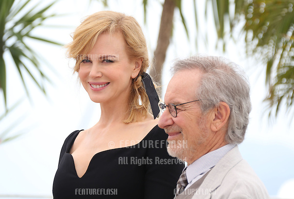 Nicole Kidman, Steven Spielberg at the 66th Cannes Film Festival - Jury photocall.Cannes, France. 15/05/2013 Picture by: Henry Harris / Featureflash