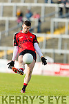 Paul O' Connor Kenmare in action against Kilfenora in the Munster Intermediate Club Football Championship Semi-Final at Fitzgerald Stadium on Sunday.