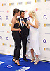 O2 Silver Clef Awards and lunch in aid of Nordoff Robbins 3rd July 2015 at Grosvenor House Hotel, Park Lane, London, Great Britain <br /> <br /> Red carpet arrivals <br /> <br /> Peter Andre<br /> his fianc&eacute;e Emily MacDonagh <br /> and Gaby Roslin <br /> <br /> <br /> Photograph by Elliott Franks<br /> <br /> <br /> 2015 &copy; Elliott Franks