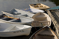Dinghys, Massachusetts, Harwich, Harwich Harbor, Cape Cod