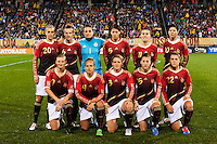US Women's Soccer vs Germany, October 23, 2012