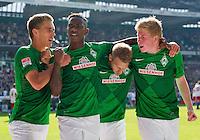 Fussball Bundesliga 2012/13: Werder Bremen - Hamburger SV