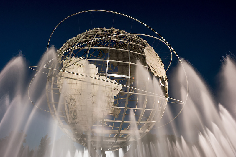 Unisphere<br /> World's Fair Grounds, Flushing Meadows-Corona Park<br /> New York City