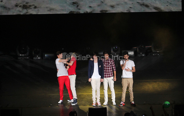 One Direction in Concert at the National Auditorium in Mexico City. June 5, 2012. © ADF/NortePhoto/MediaPunch Inc. ***FOR USA ONLY***
