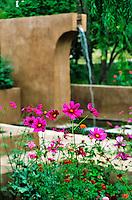 Mel Fillini garden Santa Fe photos