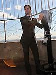 "Matt Bomer visits ""The Empire State Building"" New York, Ny January 18, 2012"