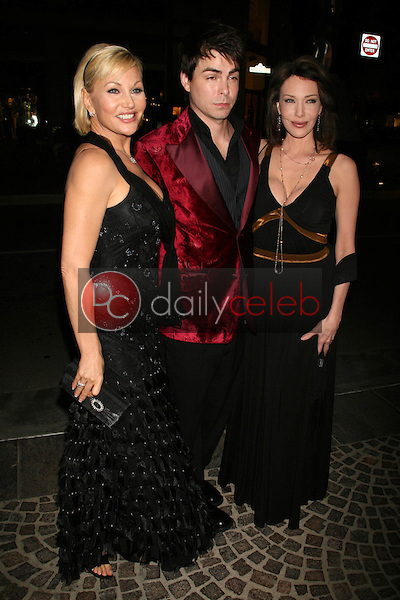 Schae Harrison with Mick Cain and Hunter Tylo<br />