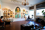 Mascot Coffee Shop and Art Gallery located in the Parkdale, or Queen West, neighborhood