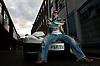 UK ENGLAND LONDON 15NOV06 - Darryn Lyons, also known as 'Mr Paparazzi' and chairman of the celebrity photo agency Big Pictures poses for a portrait with his Ferrari 360 Spider in Kensington, West London.<br /> Photography by Jiri Rezac<br /> Tel 0044(0)208 944 6933<br /> www.linkphotographers.com