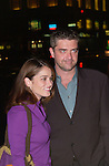 Robin Tunney arrives at a benefit in Manhattan on October 17, 2001.)