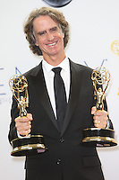 09/23/12 Los Angeles, CA: Jay Roach, winner for outstanding directing for a mini series, movie or dramatic special back stage during the 64th Primetime Emmy Awards held at NOKIA Theatre LA LIVE.
