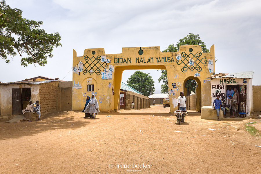 One of  eight gates to the ancient city of Zaria, Kaduna state, north-central Nigeria.