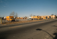 1991 March ..Conservation.MidTown Industrial...EXISTING BUSINESSES.PENSKE TRUCK LEASING.LOOKING NORTH FROM CHURCH & RUGBY....NEG#.NRHA#..