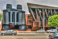 "Frank Gehry ""Binoculars Building"" in Venice, California, Landmark, Santa Monica Incline, Southern California,"