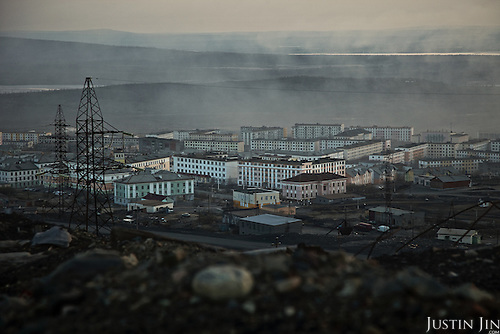 Gases emitted from the nickel mining combine hangs over the Russian Arctic town of Nikel and kills almost all vegetation within sight. The combine, built in 1937 during Stalin's reign, emits five times more sulphur dioxide -- the cause of acid rain -- than the whole of Norway just seven kilometres away on the Russian border.<br /> In 2001, Norway gave Norilsk Nickel, the head company, 32 million euros to modernise the facility and cut pollution. The money disappeared, but the factory was not improved.<br /> Sulphur dioxide emitted from the factory kills vegetation, pollutes ground water and causes asthma, especially among children.