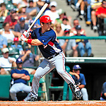 12 March 2009: Washington Nationals' outfielder Josh Willingham in action during a Spring Training game against the Atlanta Braves at Disney's Wide World of Sports in Orlando, Florida. The Braves defeated the Nationals 6-2 in the Grapefruit League matchup. Mandatory Photo Credit: Ed Wolfstein Photo
