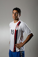 Tony Beltran. U20 men's national team portrait photoshoot before the start of the FIFA U-20 World Cup in Canada. June 22, 2007.