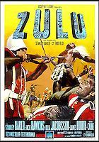 BNPS.co.uk (01202 558833)<br /> Pic: DixNoonanWebb/BNPS<br /> <br /> The film poster for the film Zulu.<br /> <br /> A medal awarded to one of the defenders of Rorke's Drift, which was immortalised in the film Zulu, has sold for &pound;132,000 138 years on.<br /> <br /> Driver Charles Robson was the batman, or personal servant, to Victoria Cross hero Lieutenant John Chard, who was played by Stanley Baker in the classic 1964 movie.<br /> <br /> The duo formed part of the 140-strong British garrison which defied all odds to successfully defend the Rorke's Drift mission station from 4,000 marauding Zulu warriors in 1879.<br /> <br /> Robson never left the side of Lt Chard, who was the commanding officer and who organised the epic defences which included piling up mealie bags to form a makeshift wall.<br /> <br /> The medal went under the hammer with London auctioneers Dix Noonan Webb today and went for a record &pound;132,000.