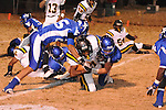Water Valley's Justin McCammon (54) vs. Cleveland Eastside in Water Valley, Miss. on Friday, November 18, 2011.