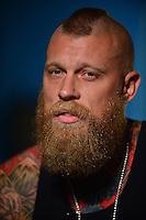 Chris Birdman Andersen photo shoot for Hard Rock Energy Drink Press Call