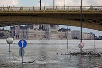 Danube Flooding in Budapest 2013