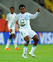 Rita Chikwelu of team Nigeria during the FIFA Women's World Cup at the FIFA Stadium in Dresden, Germany on July 5th, 2011.