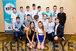 Enjoying the KDYS County Disco at the  Brandon Hotel on Friday were Front l-r Ava Joy, Sarah Glasure, Middle l-r Andrew Murphy, Emil Beauseigneur, Amos Kelly, Joseph Murphy, Conor Hennessy, Conor Mangan, Back l-r  Nathan McGarth, Shane O'Sullivan, Jack Kirby, Jack O'Sullivan, Sean Walsh, Conor Ferris, Ronan O'Neill, Aaron Mulvehill