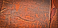 Moab Petroglyphs - Utah