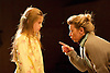 Far Away <br /> by Caryl Churchill<br /> at The Young Vic, London, Great Britain <br /> press photocall<br /> 12th November 2014<br /> <br />  Sasha Willoughby <br /> Tamzin Griffin <br /> <br /> <br /> Photograph by Elliott Franks <br /> Image licensed to Elliott Franks Photography Services