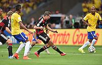 FUSSBALL WM 2014 HALBFINALE  Brasilien - Deutschland