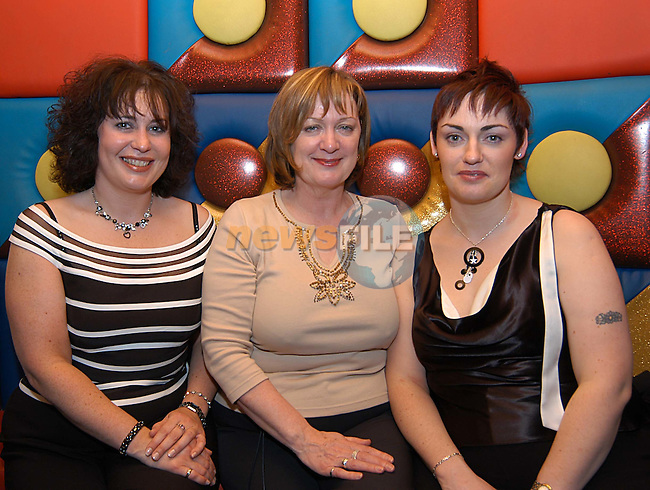 Pauline O'Callaghan, Susan Leavy and Janet O'Brien enjoying a night out at Storm.                             ..Photo: Colin Bell...