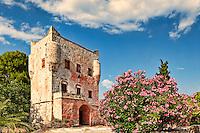 Markellos Tower in Aegina island, Greece