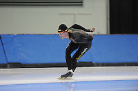 SCHAATSEN: SALT LAKE CITY: Utah Olympic Oval, 13-11-2013, Essent ISU World Cup, training, Ronald Mulder (NED), ©foto Martin de Jong