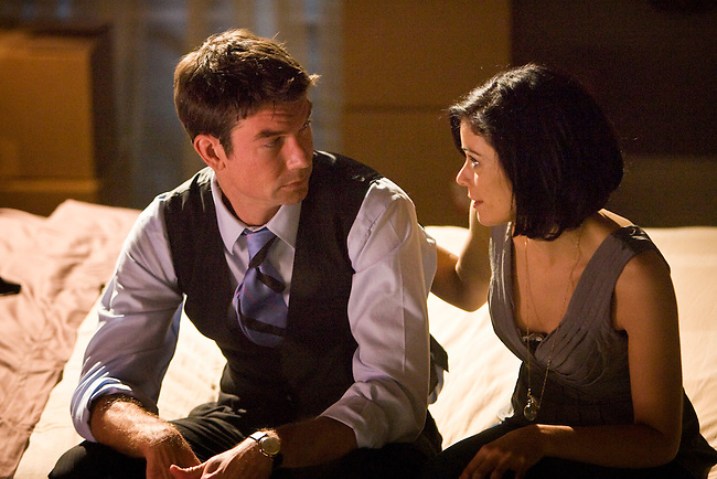 Jerry O'Connell and Lauren Stamile in Lifetime Television's movie of Nora Robert's novel 'Midnight Bayou.'