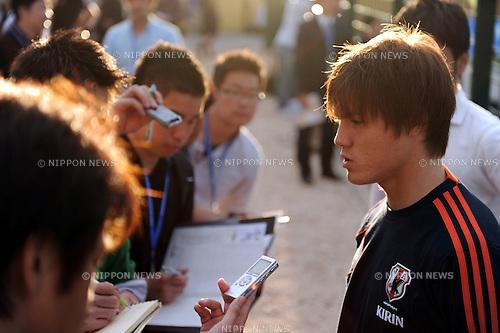 Gotoku Sakai (JPN),.MAY 23, 2012 - Football / Soccer :.Gotoku Sakai of Japan after the 2012 Toulon Tournament Group A match between U-21 Turkey 2-0 U-23 Japan at Stade Perruc in Hyeres, France. (Photo by FAR EAST PRESS/AFLO)