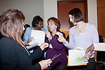 March 11, 2010. Raleigh, North Carolina.. The first N.C. Poverty Simulation Experience training session was held at the 40th Annual State Head Start Conference at the Raleigh Convention Center.  . Nearly 60 individuals, including staff and parents from Head Start programs and Community Action Agencies, engaged in role playing exercises that hoped to simulate the experience of being poor and what the poor go through on a daily basis.. Participants had to make their way around the room on a timeframe to engage in activities such as  school for those who were representing children.